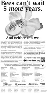 save-bees ad